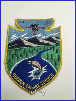 Mayi Lodge 354 Large Jacket Patch