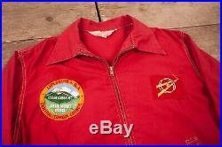 Mens Vintage BSA Boy Scouts 1950s Patched Uniform Jacket Medium 38 XZ 16189