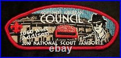 Merged Northwest Suburban Bsa 2010 Jamboree The Blues Brothers 7-patch Set
