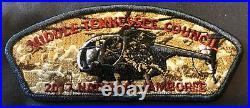Middle Tennessee Council Oa 111 Wa-hi-nasa 2017 Jamboree Us Army Eagle 5-patch