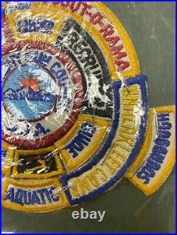 Midnight Sun Council Alaska Council Patch With14 Segments