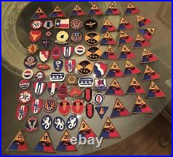 Military Patches Large Lot 700+ Patches Variety Mainly Air Force Some Boy Scout