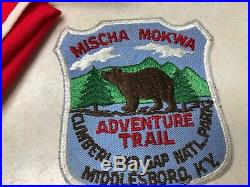 Mischa Mokwa Trail Medal, Patch, & Neckerchief