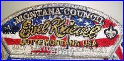 Montana Council Mt Oa 300 Apoxky Aio 2017 Jamboree 7-patch Evel Knievel 250 Made