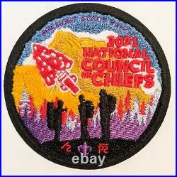 NCOC 2021 Chenille patch OA Council of Chiefs Order of the Arrow National OA