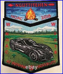 Nguttitehen Oa Lodge 205 Bsa Lincoln Heritage Council Noac 208 Corvette 2-patch