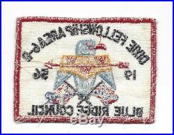 OA 1956 Dixie Fellowship Patch Host 185 Atta Kulla Kulla Old Indian LMT884