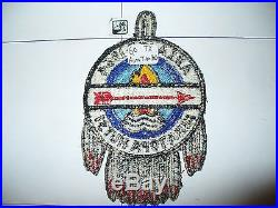 OA 1964 Area 9-d, IXD, Conference Patch, pp, 60 ATH HOST, 99,199,272,295,307, Texas, TX