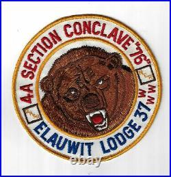 OA 37 Elauwit Conclave J 0.5 Patch YEL Bdr. Hudson-Hamilton, NJ JB-669