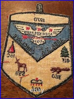 OA Area 5-A 1970 Conclave Patch Lodges 599 Host, 413,360,406,559,160