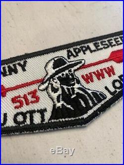 OA Boy Scout Patch- Johnny Appleseed Lou Ott Lodge 513 WWW F-1 Flap