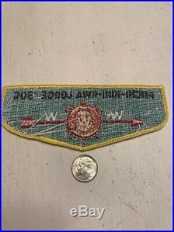 OA Boy Scout Patch- MICHI-KINI-KWA Lodge 306 WWW F-1 Flap
