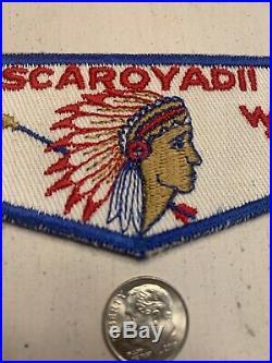 OA Boy Scout Patch- SCAROYADII Lodge 472 WWW F Flap