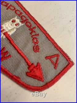 OA Boy Scout Patch-WAPAGOKLOS Lodge 448 WWW F Flap Circa 1900s