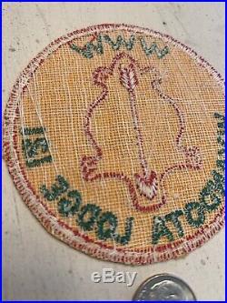 OA Boy Scout Patch- WYANDOTA Lodge 121 WWW R-1 Circle
