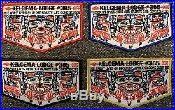 OA Kelcema 305 60th Anniversary 4 Patch Set