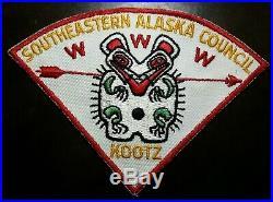 OA Kootz Lodge 523, Southeast Alaska Council, P1, first patch, 1 per life