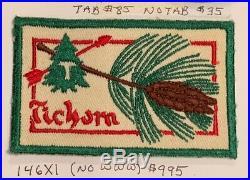 OA Lodge 146 Tichora 146X1 (no www) Patch RARE