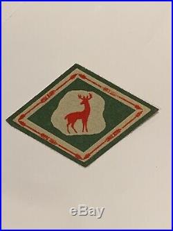 OA Lodge 256, 256X5 Deer Rock RARE Mint Patch