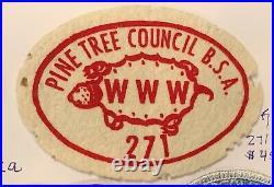 OA Lodge 271, 271X2 Rare FELT Patch