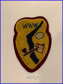 OA Lodge 275, 275C2a Rare Chenille Patch