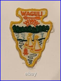 OA Lodge 318 Waguli 318A2a Rare Mint Patch