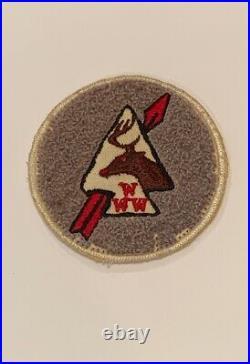 OA Lodge 430 Ahwahnee 430C1b Rare Chenille Patch