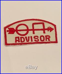 OA Lodge 498X Hinode Unlisted OA Advisor Rare Mint Patch