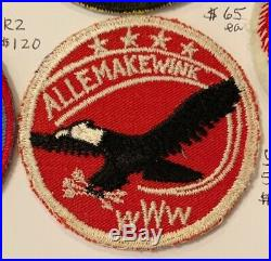 OA Lodge 54 Allemakewink 54R1b Wab Issue Rare Round Patch