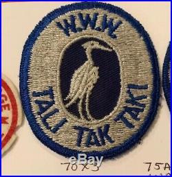 OA Lodge 70 Tali Tak Taki 70X3 Patch RARE