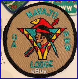 OA Lodge 98 Navajo 98R1 Rare Round Patch