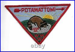 OA Michigamea 110 Pre-FDL Potawattomi Chapter Pie Patch P-1 NAN-1737