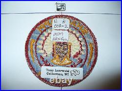 OA Shaginappi Lodge 61, R-2,1950s Patch, 73,156,233,244,501,635, Badger Council, WI