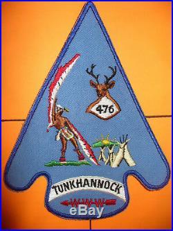 OA Tunkhannock Lodge 476, J-1,1960s, 1 Per Life Jacket Patch, Bethlehem Council, PA