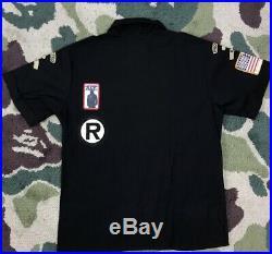 OG A Bathing Ape Boy Scout Patches Black Button up Shirt S Bape Kaws Bapesta Off