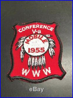 Oa 1955 Va Conclave Conference Patch Aa
