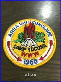 Oa 1968 Area V3 (viii) Conclave Patch Camp Yocona