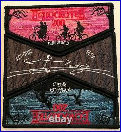 Oa Echockotee Lodge 200 Bsa North Fl 2020 3-patch Stranger Things Upside Down