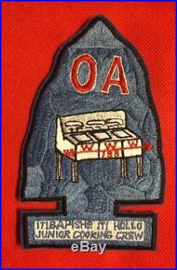 Oa Lodge #188 ITIBAPISHE ITI HOLLO, Junior Cook Team Patch Dixie Fellowship