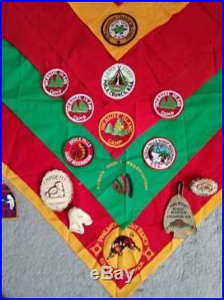 Old Vtg 1950s 1960s BSA Boy Scouts Patch Badge OA Eagle Mix Lot Collection