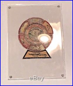 Original 1950 BSA Philmont Silver Dollar Patch