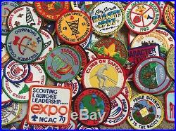 Over 170 Boy Scout Vintage 1970s 80's 90's 2000's Patch Lot