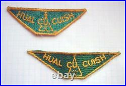 Pair of 4 Hual Cu Cuish Boy Scout Camp Patches