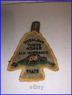 Philmont Scout Ranch 50 Rare Mint Patch STAFF rare patch BSA Boy Scouts patch