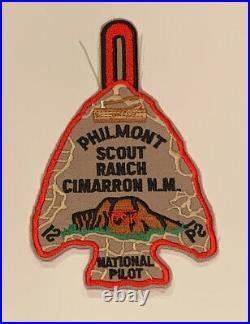 Philmont Scout Ranch National Pilot, Pilot Camper Rare Mint Patch