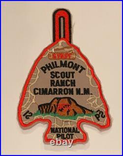 Philmont Scout Ranch National Pilot, Pilot Staff Rare Mint Patch