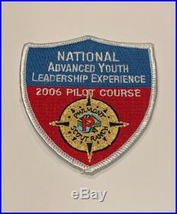 Philmont Scout Ranch Nayle Pilot 2006 Pilot Course Rare Mint Patch