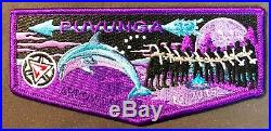 Puvunga Lodge 32 Long Beach Area Patch Oa 100th 2015 Centennial Arrow Tour Flap