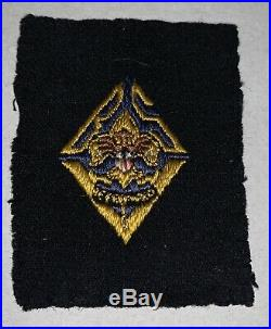 Rare Boy Scout Sea Scout Blue Felt 5 Year Veteran Patch #2 (1-2)