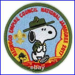 Redwood Empire Council JSP set- 3 patches JSP Order of the Arrow Snoopy